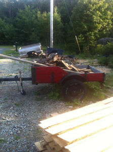 Multi purpose trailer with papers