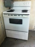 4 almost new appliances-$1200 nego