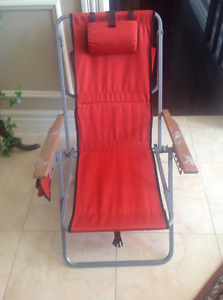 Outdoor/Indoor Chair as New.