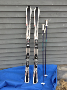 Rossignol Downhill Skis and Nordica Ski Boots - Complete Package