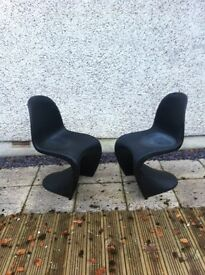 Black designer chairs