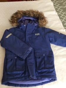 Manteau d'hiver fille 5 ans