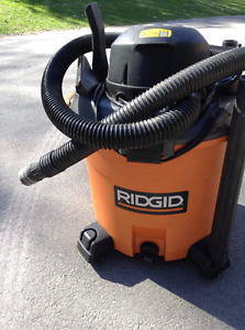 RIGID heavy duty wet/dry vac