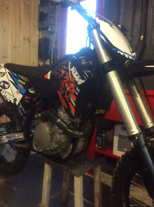 2009 ktm450f, low hours, mint condition, has papers, 4300$
