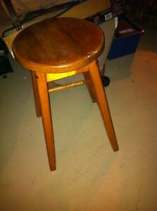 Wooden bar  stool London Ontario image 1