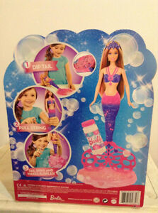 BARBIE Bubble-tastic Mermaid Cambridge Kitchener Area image 2