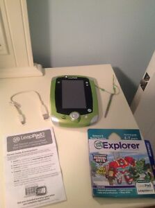 Leappad 2 with Rescue Bots game