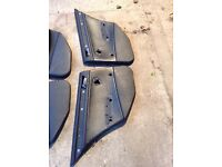 Bmw e46 touring rear leather door cards