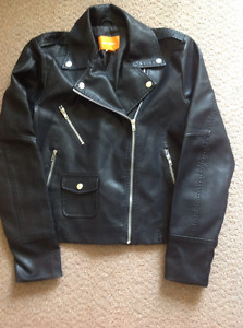 Brand New Ladie's sz. large Joe leather looking jacket $20