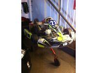 Tony kart & rotax max fr125 &trailer