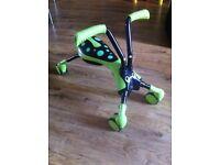 Childrens Scramble bug ride on