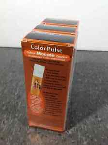 3 pack of L'Oreal Color Pulse Mousse colour - Electric Black Cambridge Kitchener Area image 4