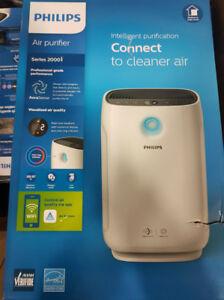Philips AC2889/40 Air Purifier, Series 2000, Wifi, White