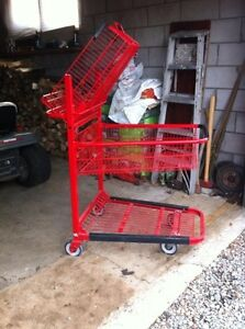 Shopping Cart for stock room - like new condition Kawartha Lakes Peterborough Area image 2