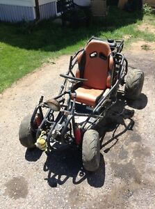 HONDA 200cc mud buggy~ this is fast and lots of power!