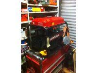 Honda ECM 2800 dual fuel generator