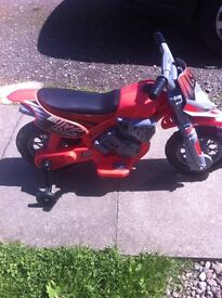 Kids electric bike immaculate Kinross can deliver