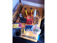 Various car tools