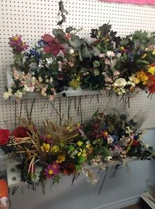 Artificial flowers and displays