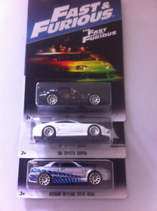 Hot Wheels Fast and the Furious Series