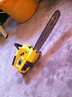 McCULLOCH POWER MAC 6 Chainsaw tronçonneuse