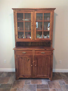 Pine hutch and Buffet