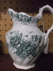TRANSFER WARE PITCHER