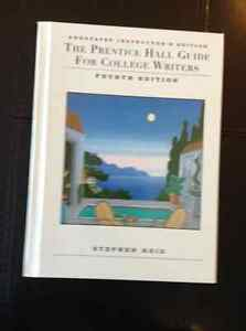 """""""THE PRENTICE HALL GUIDE FOR COLLEGE WRITERS"""""""