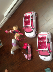 Fiat cars and Barbie