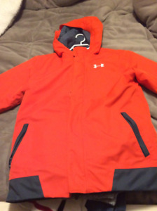Under armour winter jacket youth large