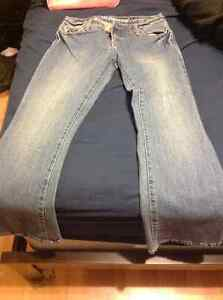 Ladies Jeans, NWT, Silver & Bluenotes