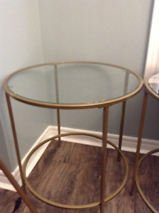 COFFEE TABLE + 2 END TABLES - NEW IN THE BOX - $250