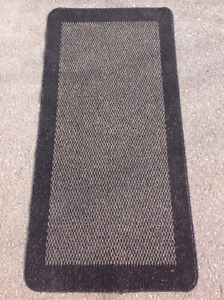"""44"""" x 29"""" area floor rug with bubber backing"""