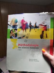 Méthodologie en sciences humaines 3e éd.