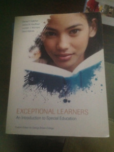 Exceptional Learners - An Introduction to Special Education