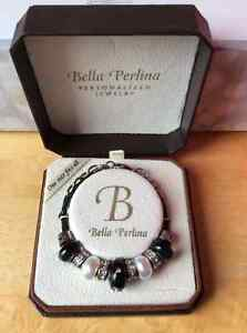 Bella Perlina Bracelet with Charms - $15