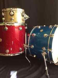 Batterie DW 3 morceaux / DW drums 3 pieces kit.