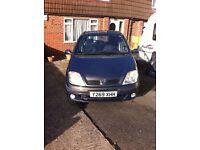 Renault Scenic 2001 Left Hand Drive