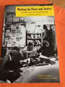 Working for Peace and Justice - used Book