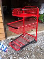Shopping Cart for stock room - like new condition