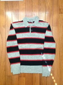 Tristan and America Polo L/S Large Designer