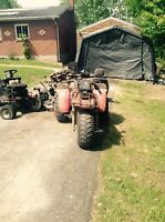 Looking for 250 big red sx or fourtrax parts bike or parts