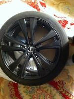 """Jeep grand Cherokee 22"""" mags tires tpms"""