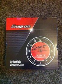 SNAP ON clock. £60 Ono