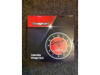 SNAP ON clock. £60 Ono