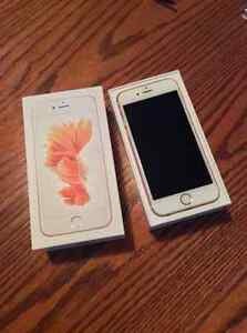 NEW PRICE. Rose Gold 16Gb IPhone 6s-Mint condition.