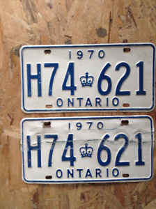License plates for your classic car