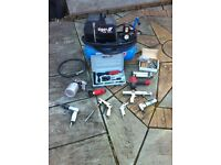 Air compressor & various air tools