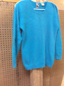 2 angora sweaters and one wool sweater for $60.00