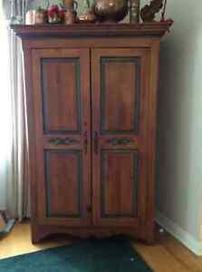 Beautiful pine armoire